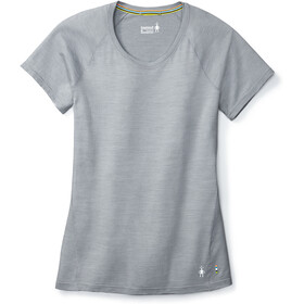 Smartwool Merino 150 Baselayer Pattern T-shirt Dames, dark pebble gray